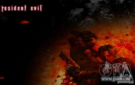 Pak personnages de Resident Evil pour GTA San Andreas