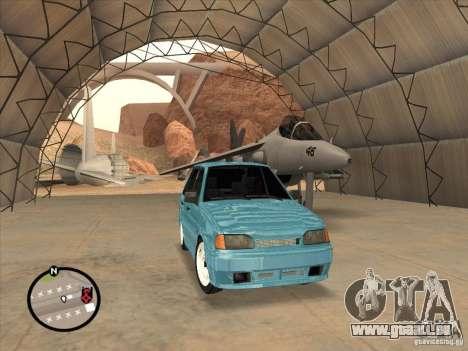 ВАЗ 2114 Casino pour GTA San Andreas laissé vue