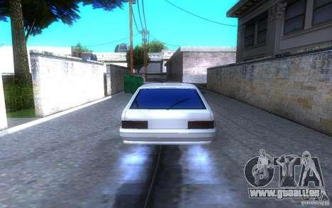 LT ВАЗ 2114 pour GTA San Andreas sur la vue arrière gauche