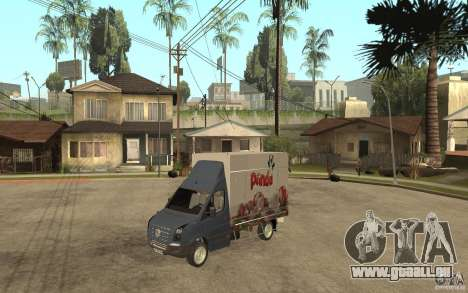Volkswagen Crafter Ice Dream Box pour GTA San Andreas