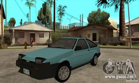 Toyota Corolla GT-S - Stock pour GTA San Andreas
