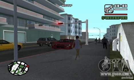 Verlegenheit Auto für GTA San Andreas fünften Screenshot