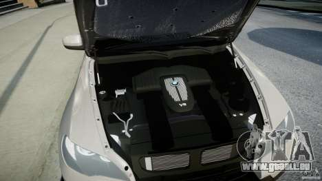 BMW X5 Experience Version 2009 Wheels 223M pour GTA 4 Vue arrière