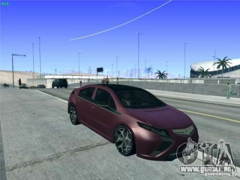 Opel Ampera 2012 für GTA San Andreas Seitenansicht