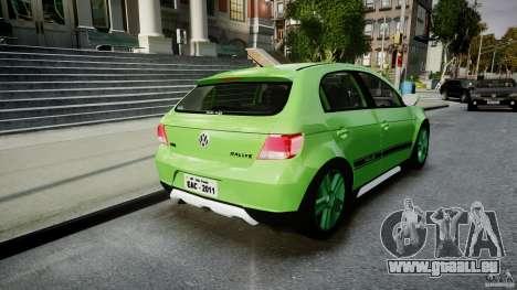Volkswagen Gol Rallye 2012 v2.0 pour GTA 4 est un côté