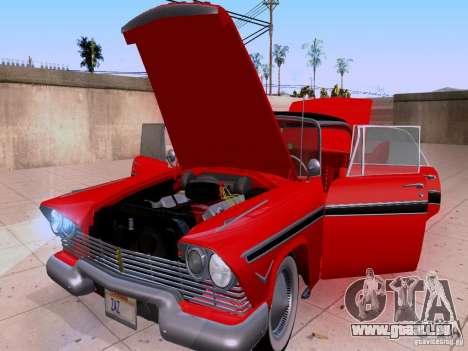 Plymouth Belvedere Sport Sedan 1957 für GTA San Andreas Seitenansicht