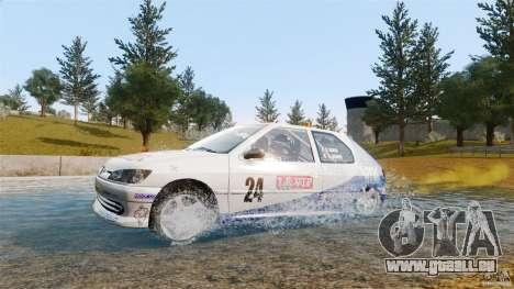 Peugeot 306 Gr. N Rally für GTA 4 rechte Ansicht