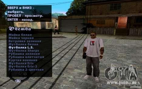 Neue CJ für GTA San Andreas fünften Screenshot