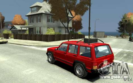 Jeep Cherokee 1984 für GTA 4 hinten links Ansicht