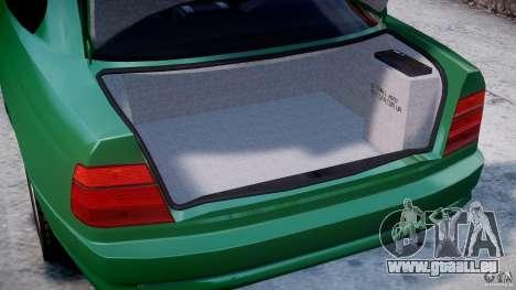 BMW 850i E31 1989-1994 für GTA 4 Seitenansicht