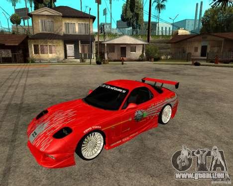 Mazda RX7 FnF für GTA San Andreas