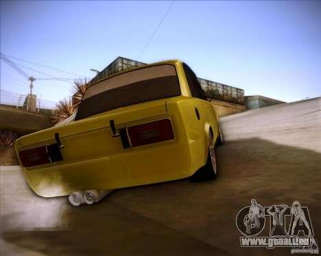 Dérive de VAZ 2106 pour GTA San Andreas laissé vue