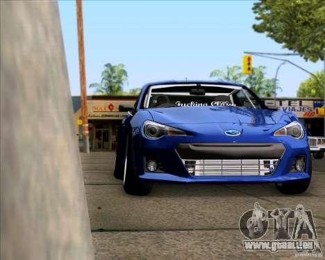 Subaru BRZ Stance pour GTA San Andreas vue de droite