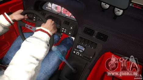 Nissan 240SX Korch pour GTA 4 roues