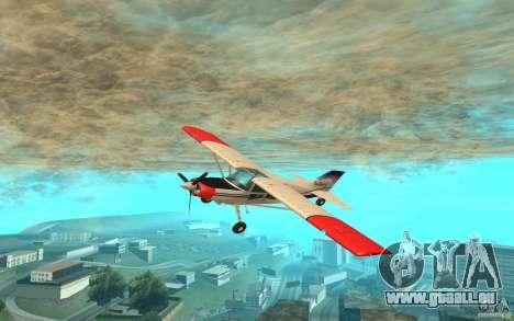 Maule Orion pour GTA San Andreas laissé vue