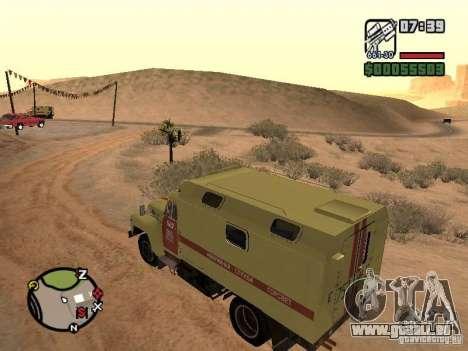 ZIL-130-Gorsvet aus Wächter der Nacht für GTA San Andreas