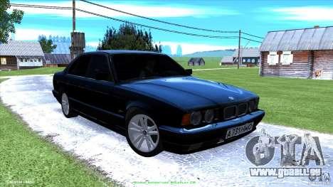 BMW E34 V1.0 pour GTA San Andreas salon