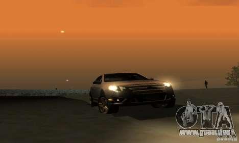 Ford Fusion Sport pour GTA San Andreas vue intérieure