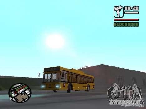 Svarz-6235 für GTA San Andreas linke Ansicht