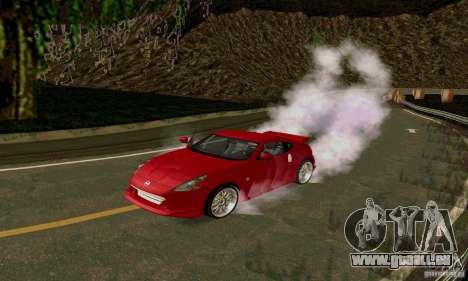 Nissan 370Z pour GTA San Andreas laissé vue