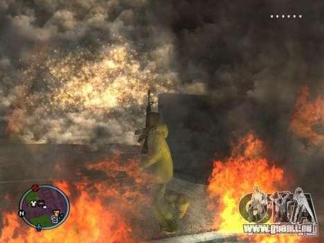 Project Reality mod beta 2.4 pour GTA San Andreas deuxième écran