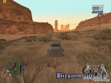 GTA IV  San andreas BETA für GTA San Andreas siebten Screenshot