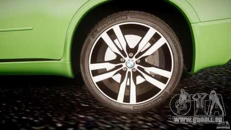 BMW X5 M-Power pour GTA 4 est une vue de dessous