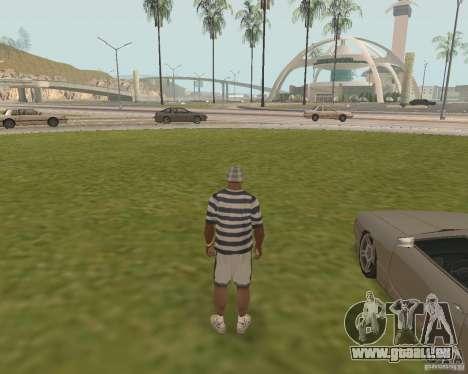 Issue de secours voiture pour GTA San Andreas