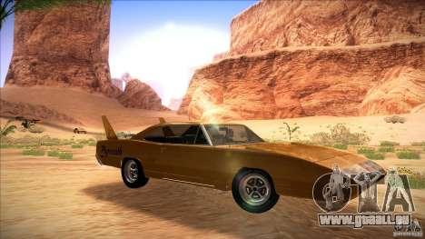 Plymouth Roadrunner Superbird Custom für GTA San Andreas