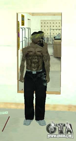 Vagos Gang Skins pour GTA San Andreas quatrième écran