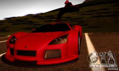 Gumpert Apollo für GTA San Andreas Seitenansicht