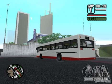 MAN SL 202 pour GTA San Andreas laissé vue