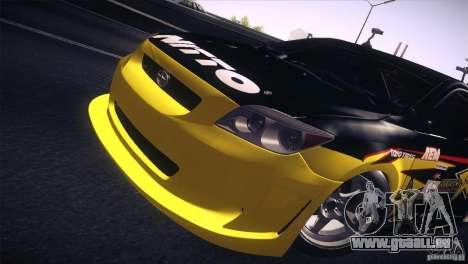 Scion TC Rockstar Team Drift für GTA San Andreas