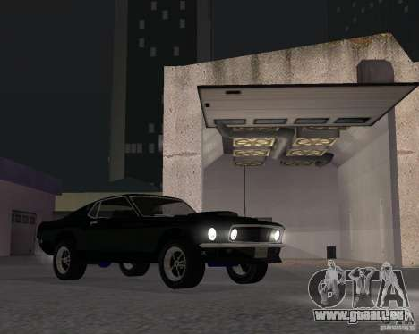Ford Mustang Boss 1969 pour GTA San Andreas