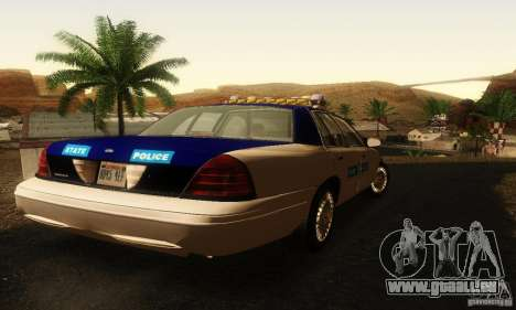 Ford Crown Victoria Virginia Police für GTA San Andreas linke Ansicht