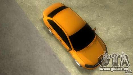 Lada Granta pour une vue GTA Vice City de la droite