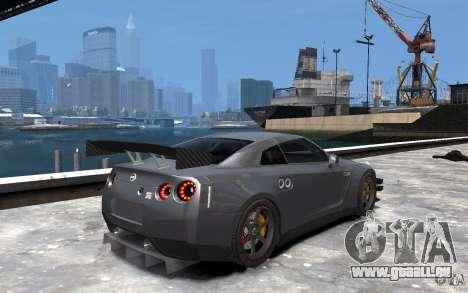 Nissan GT-R v1.1 Tuned für GTA 4 rechte Ansicht