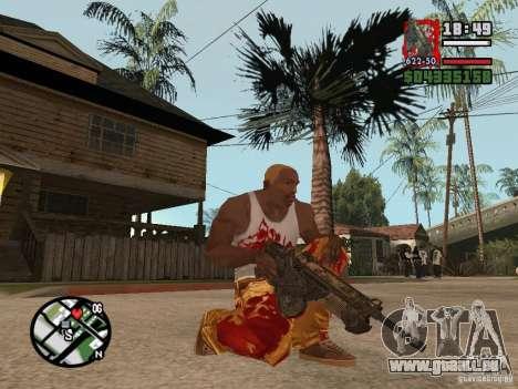 BulletStorm M4 pour GTA San Andreas