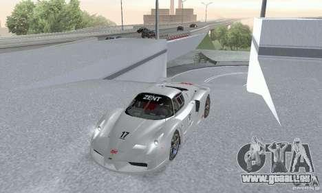 Ferrari FXX pour GTA San Andreas vue de droite