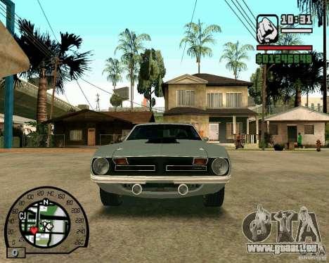 Plymouth Hemi Cuda 440 für GTA San Andreas linke Ansicht