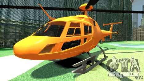 Helicopter From NFS Undercover für GTA 4 linke Ansicht