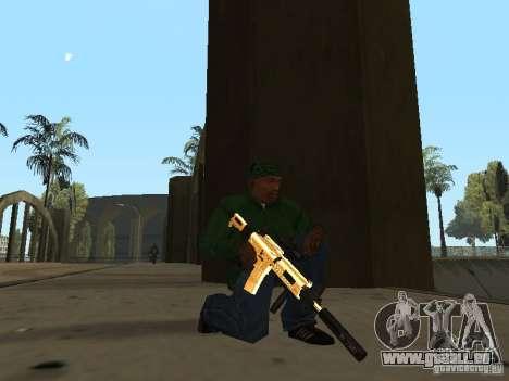 Pak Golden Waffen für GTA San Andreas
