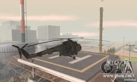 MI-17 pour GTA San Andreas laissé vue