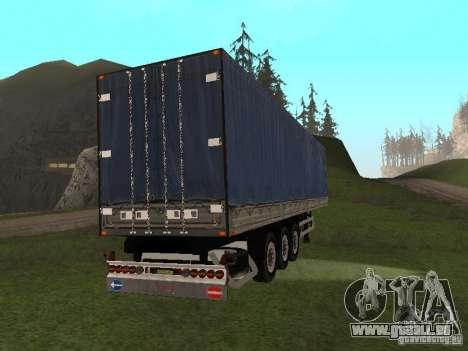 Neuer trailer für GTA San Andreas rechten Ansicht