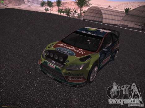 Ford Focus RS WRC 2010 für GTA San Andreas