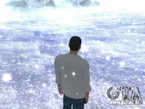 Snow MOD HQ V2.0 pour GTA San Andreas quatrième écran