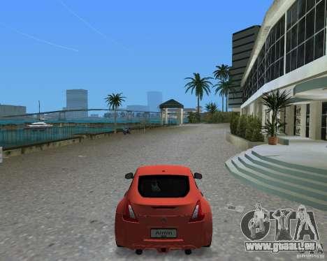 Nissan 370Z für GTA Vice City zurück linke Ansicht