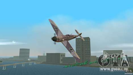 WW2 War Bomber für GTA Vice City