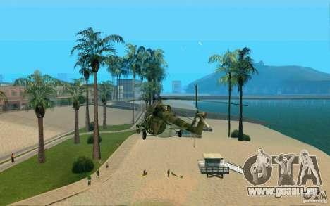 MIL MI-8 für GTA San Andreas linke Ansicht