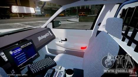 Ford Crown Victoria 2003 FBI Police V2.0 [ELS] für GTA 4 Innenansicht